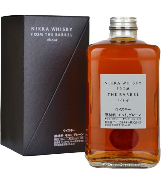 Nikka whisky from the barrel 51,4° - 0.5l