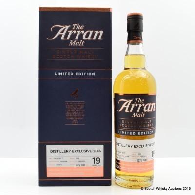 Arran 1996 19 Year Old Distillery Exclusive(*)