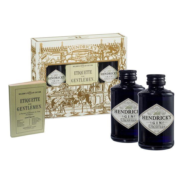Hendrick's gin love pack 2x 0.05l - 40%(*)