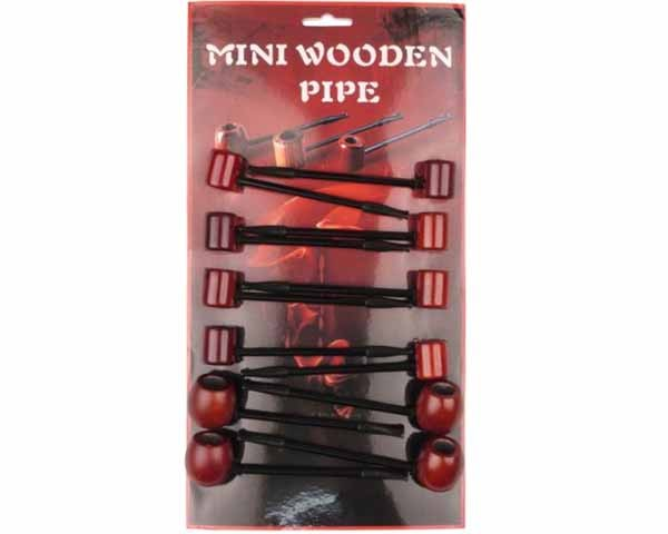 PIPE 447706 MINI WOODEN PIPE 110MM