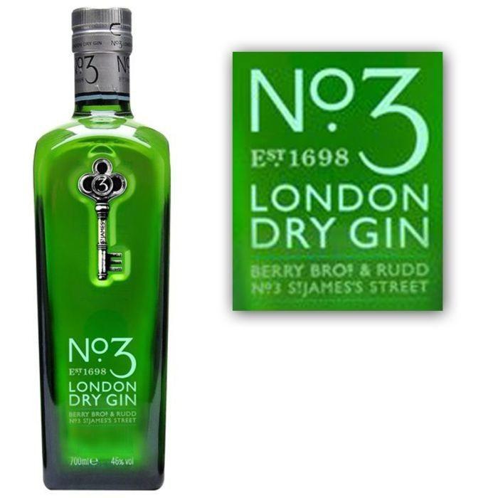 NO. 3 London Dry Gin B.Bros 46%