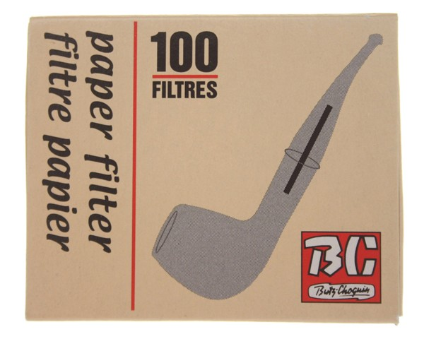 FILTRES 4 MM BC PIPES 100 PIECES