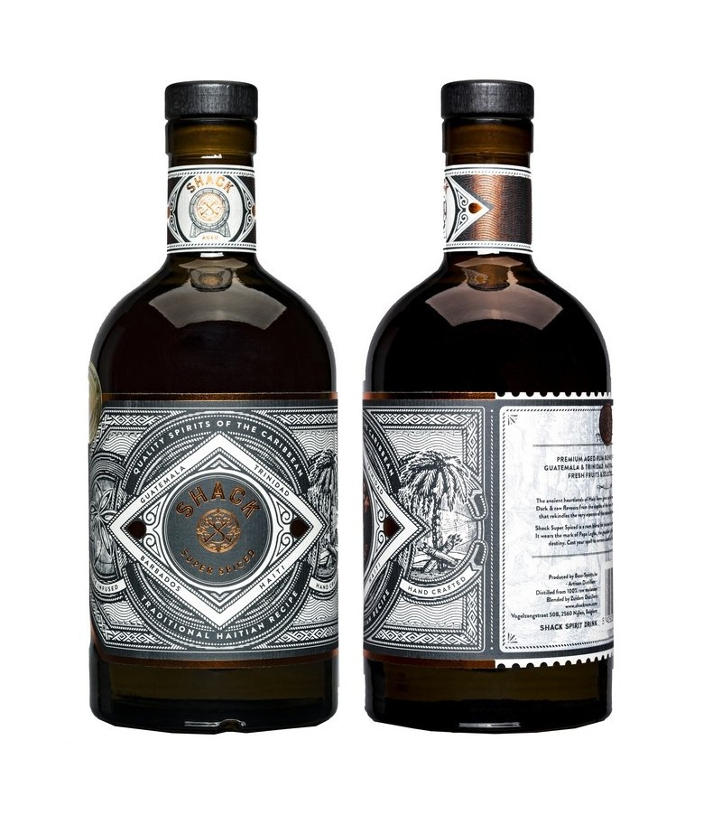 Shack Rum Spiced The Spirit of Nature 0.7l