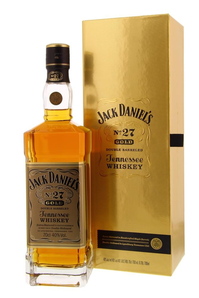 Jack Daniel's N°27 Gold Double Barreled 40° 0.7L