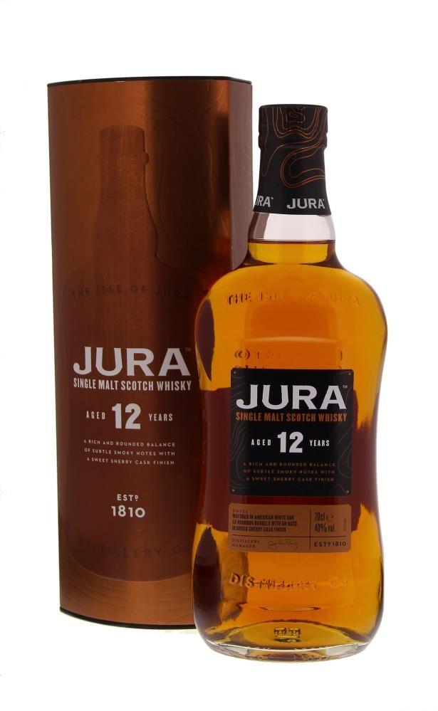 Isle Of Jura 12 Years ( New bottle ) 40° 0.7L