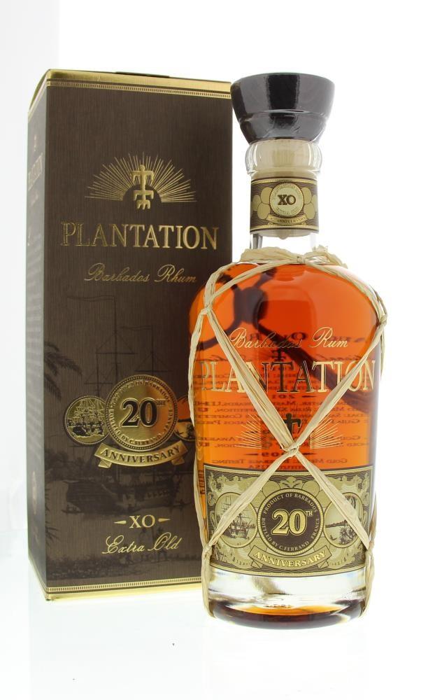 Plantation Rum Barbados Extra 20th Anniversary 40° 0.7L