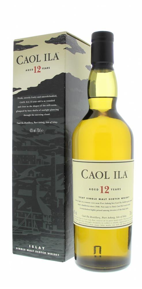 Caol Ila 12 Years 43° 0.7L
