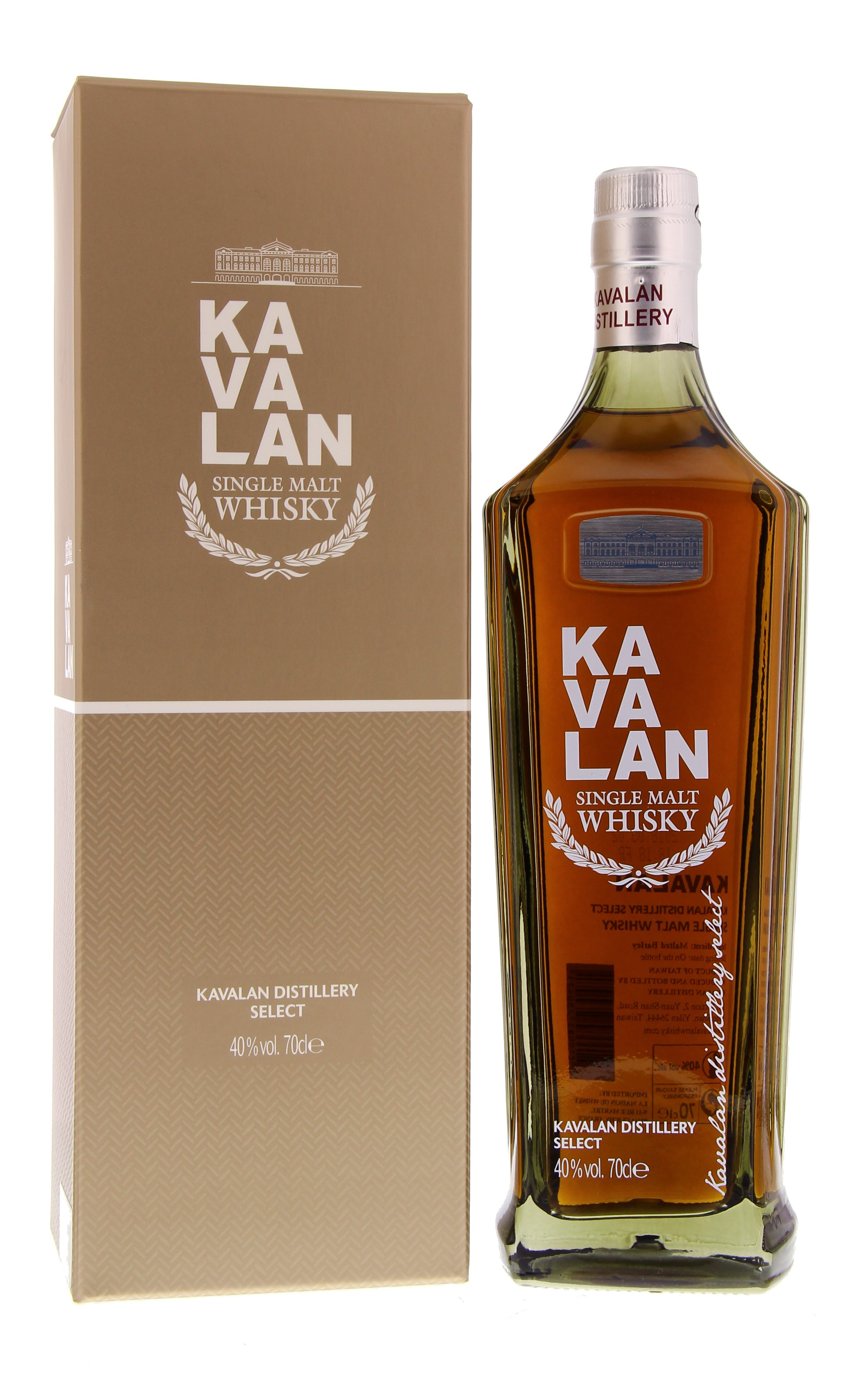 Kavalan Distillery Select 40° 0.7L