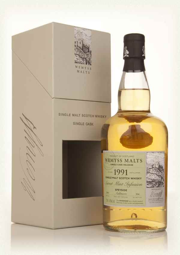 wemyss malts (aultmore) Sweet Mint Infusion 1991
