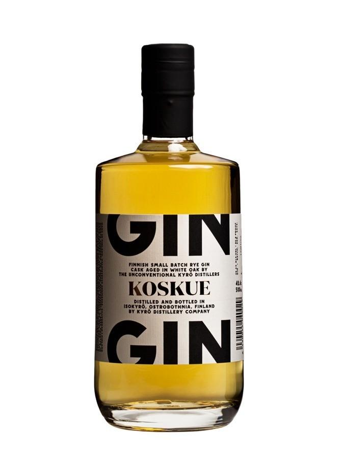 Kyrö Koskue Cask-Aged Rye Gin 0,5L (42,6% Vol.)