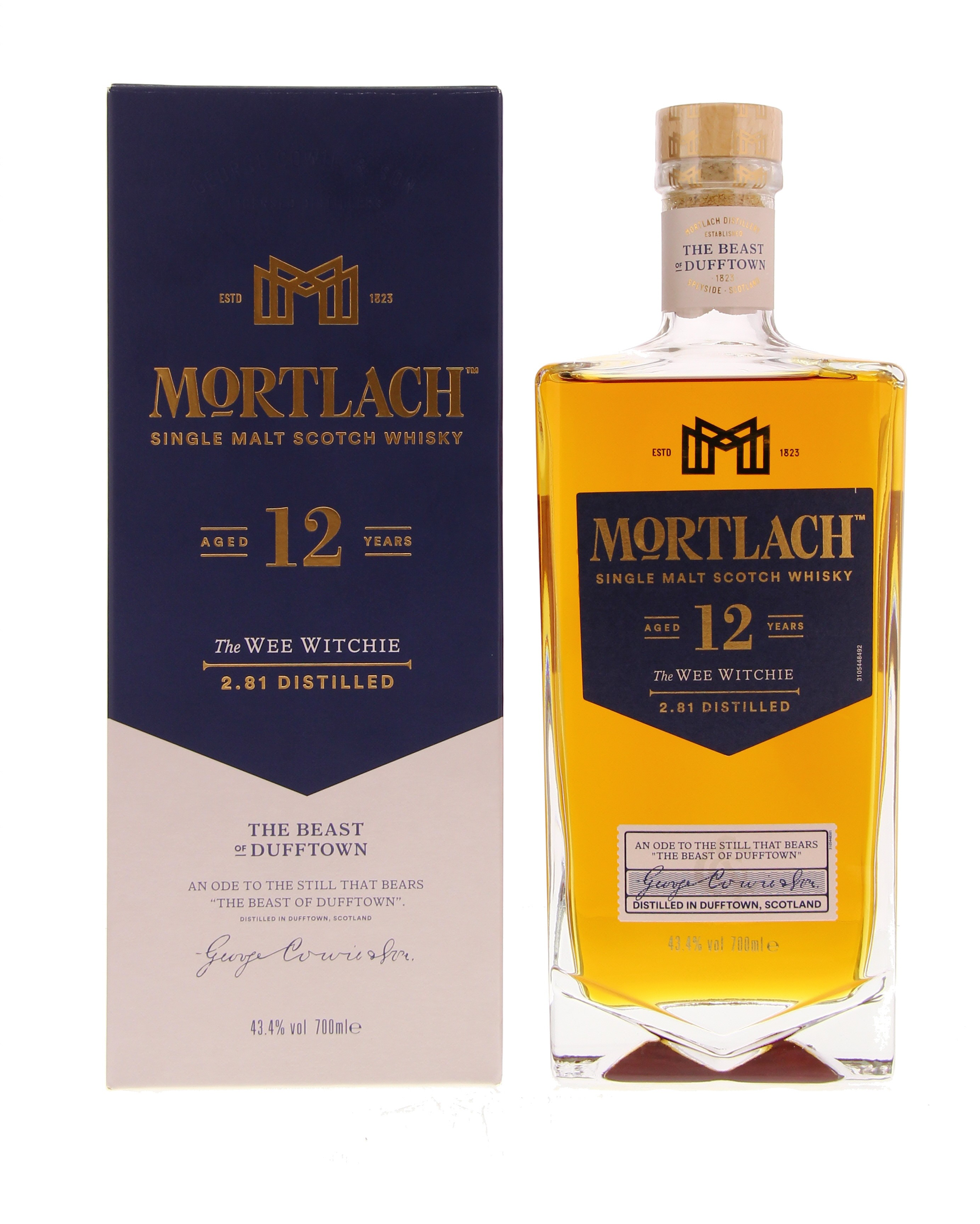Mortlach 12 Years 43.4° 0.7L