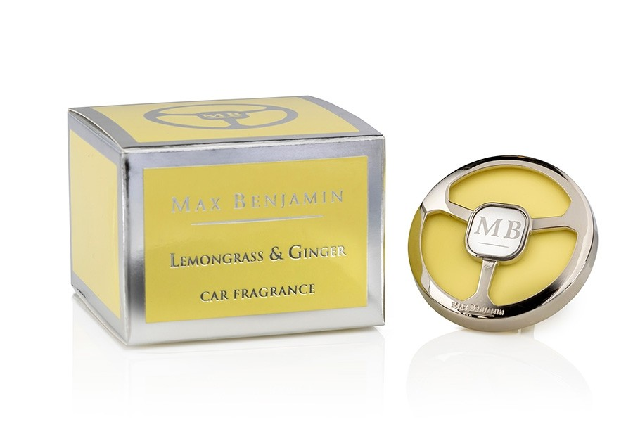 Lemongrass & Ginger Luxury Car Fragrance Max Benjamin