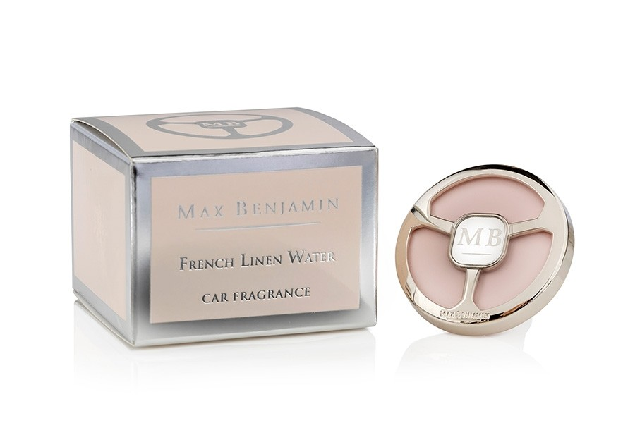 French Linen Water Luxury Car Fragrance Max Benjamin