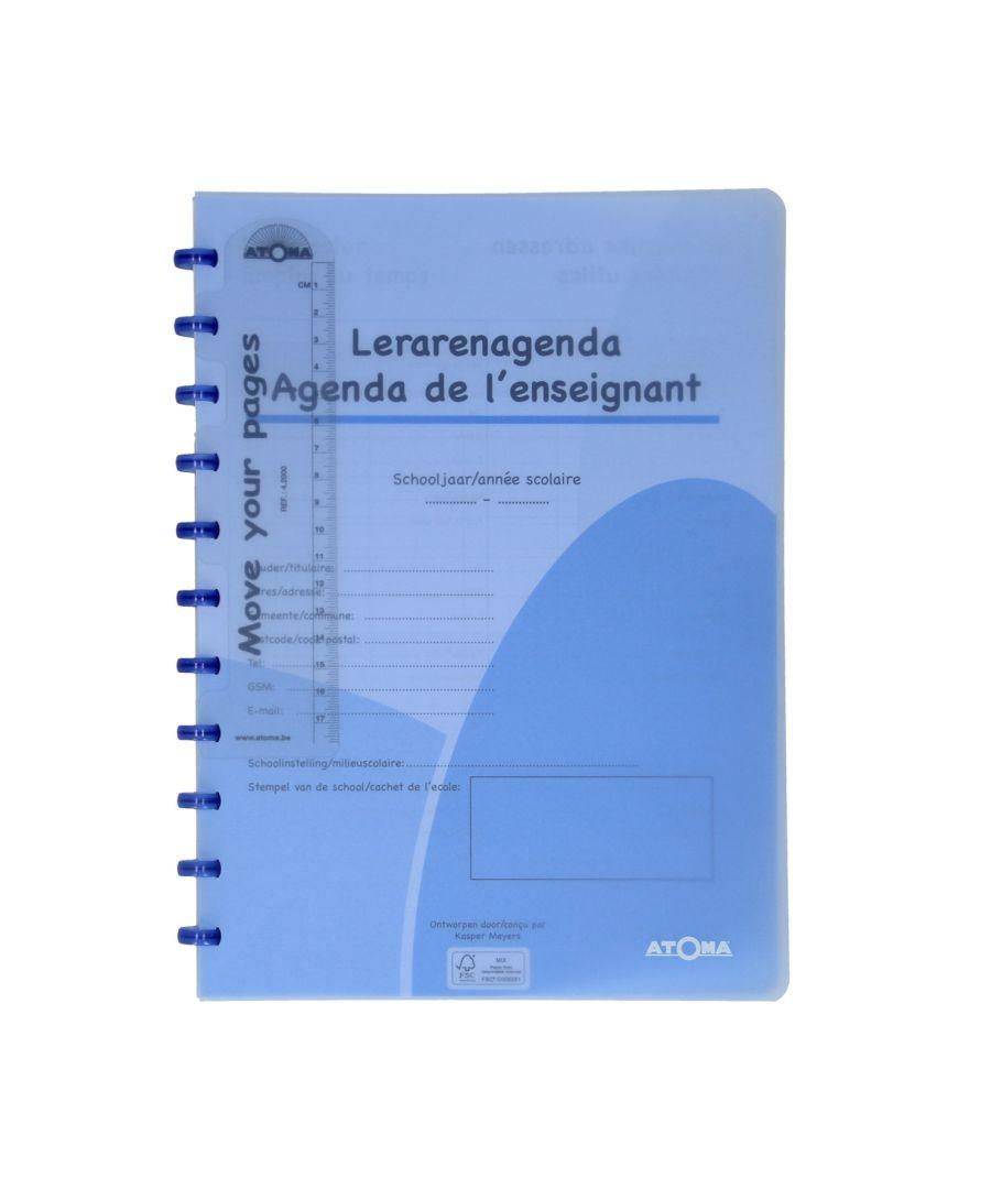 Agenda de l'enseignant/étudiant Atoma