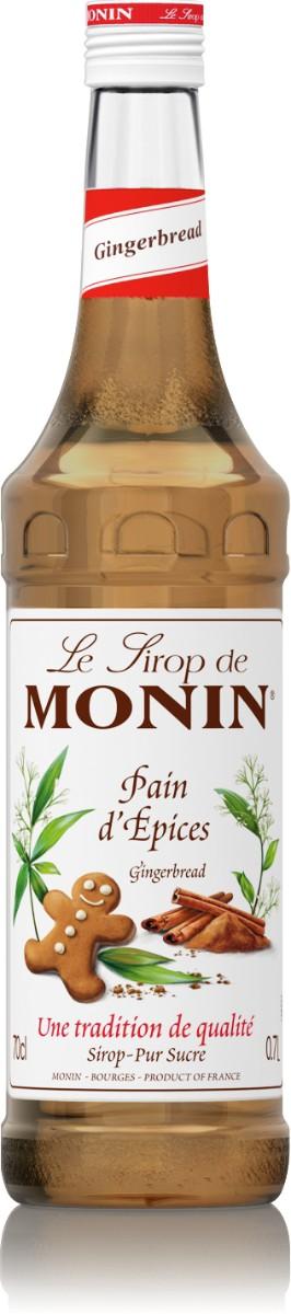 Sirop Monin Saveur Pain d'Épices 70 cl
