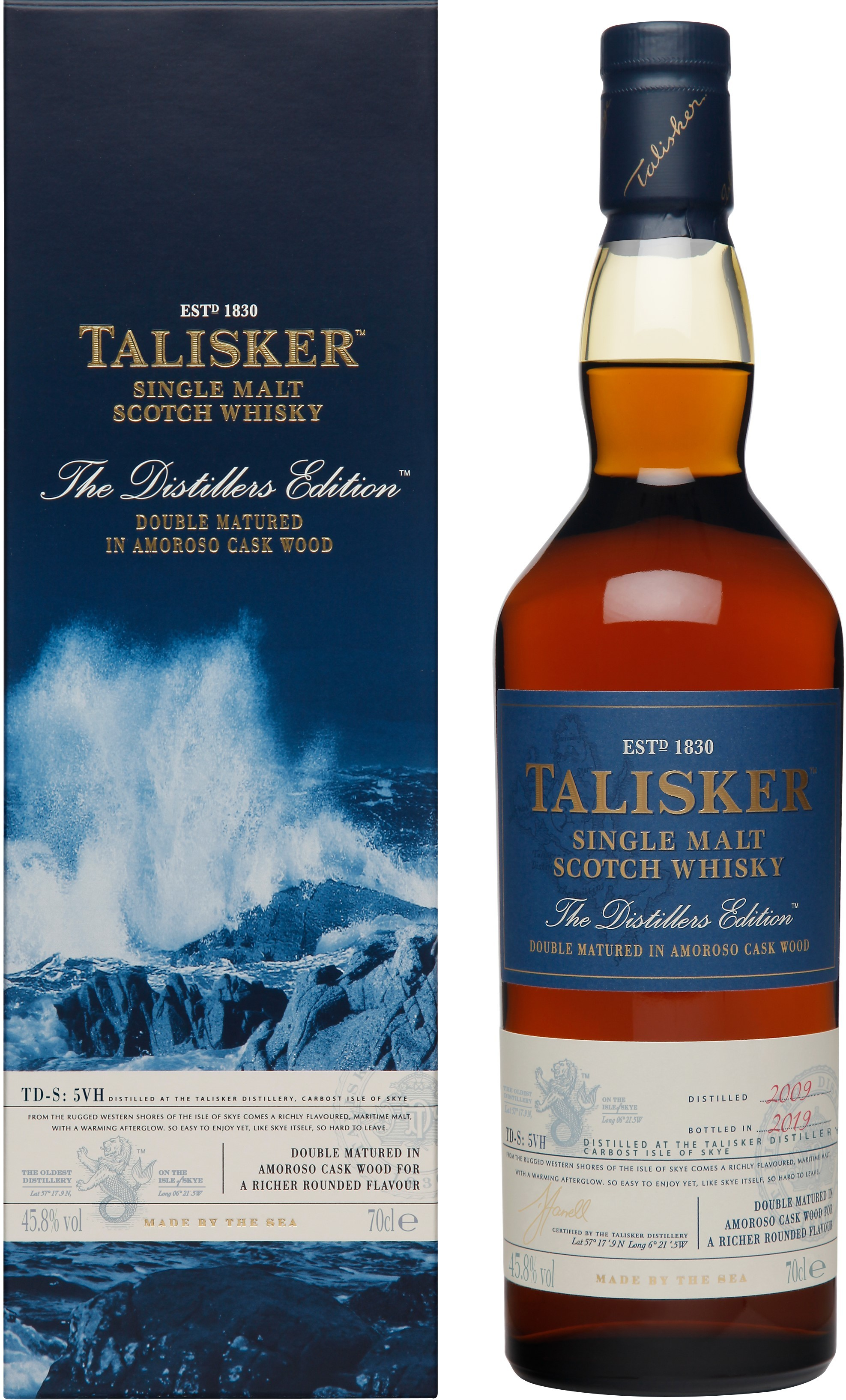 Talisker Distillers Edition...