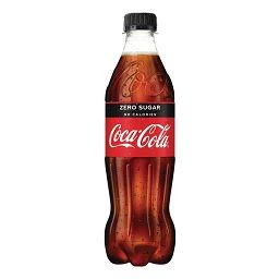COCA COLA ZERO 6X50CL PET