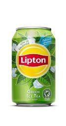 LIPTON ICE TEA GREEN 33CL.CANS