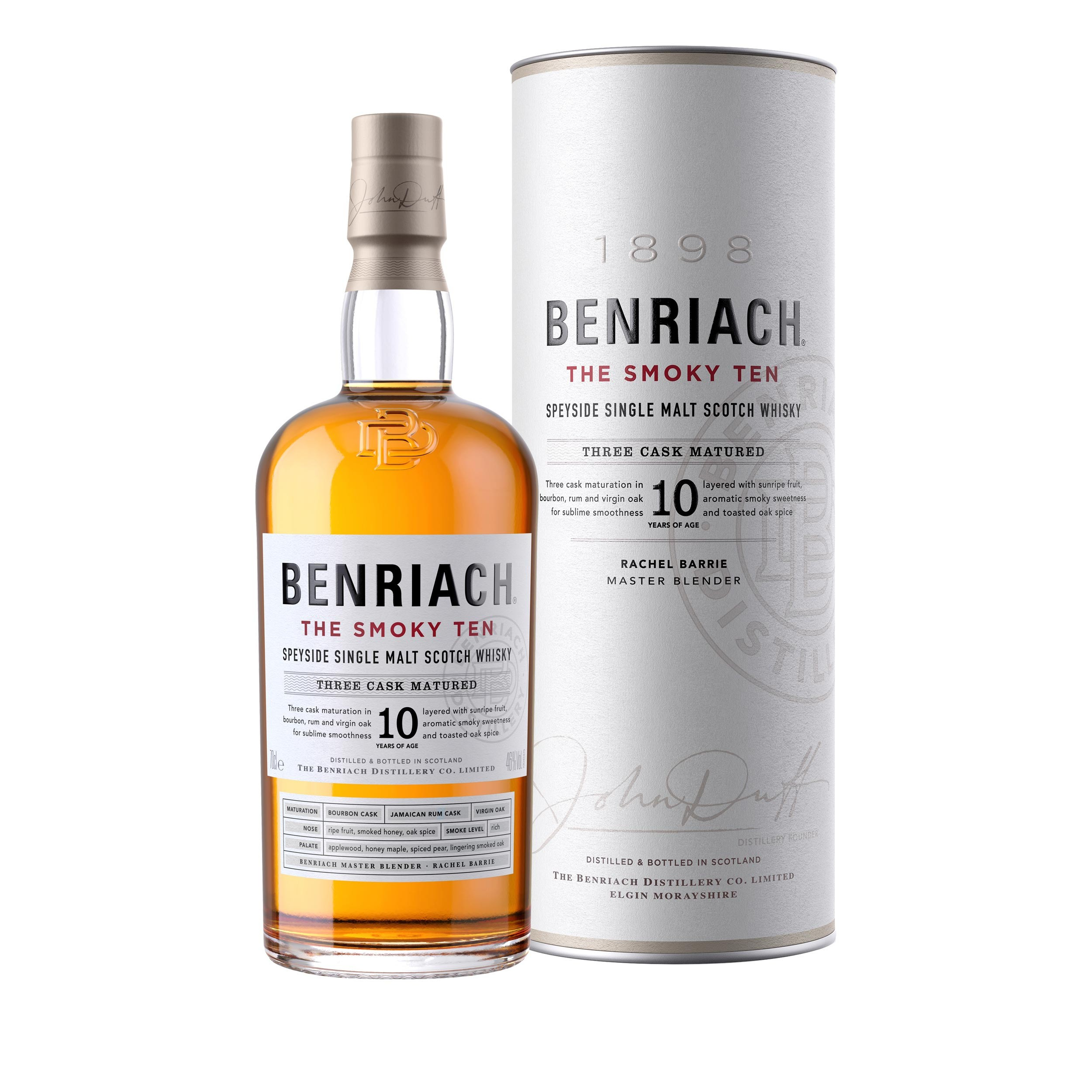 BENRIACH 10 ans The Smoky...