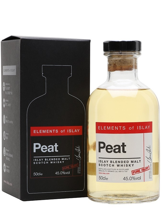 ELEMENTS OF ISLAY Peat Pure...