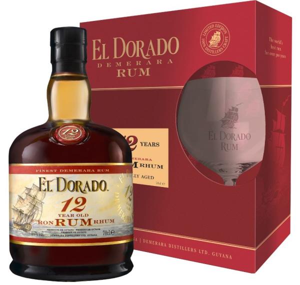 El Dorado Rum 12 ans, 0,7l...
