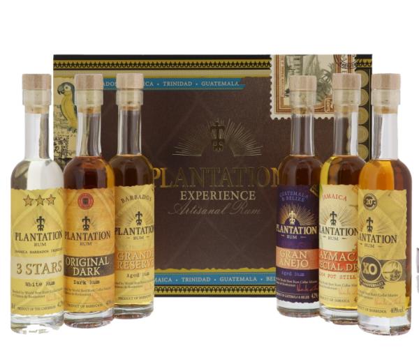 Rhum plantation gift pack 6...