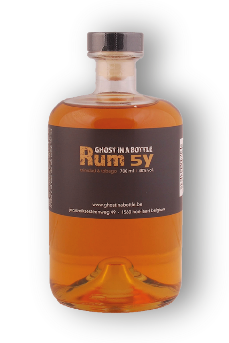 Rhum 5 years Ghost in a...