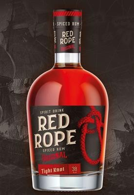 Red Rope Spiced Rum 38° 70cl.