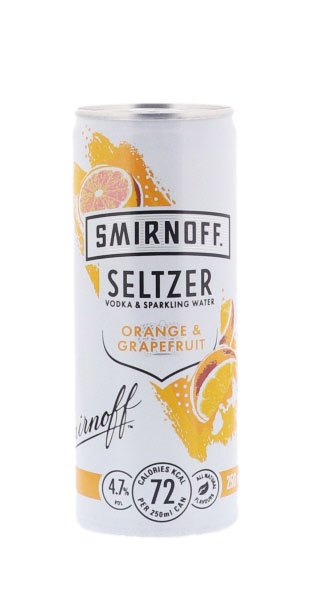 Smirnoff Seltzer Orange &...