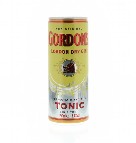 Gordon's & Tonic Cans 25 cl...