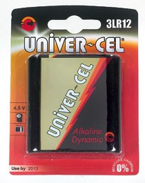 Pile UNIVER-CEL 3LR12/1...