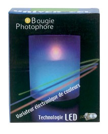 UNIVER-CEL BOUGIE LED COULEURS
